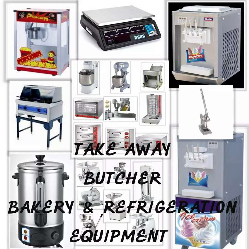 Take away butcher bakery and refrigeration equipment 0