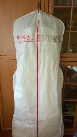 Шикарное атласное платье жемчужного цвета Киев - изображение 7