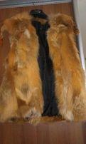 Продам меховой жилет из лисы