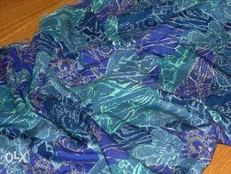 NOWY KUPON materiał wzory i kwiaty