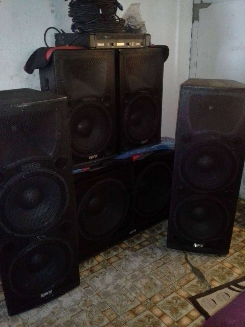 Hybrid sound system for hire 0