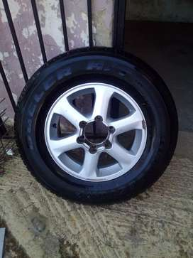 Tyre and mag rim