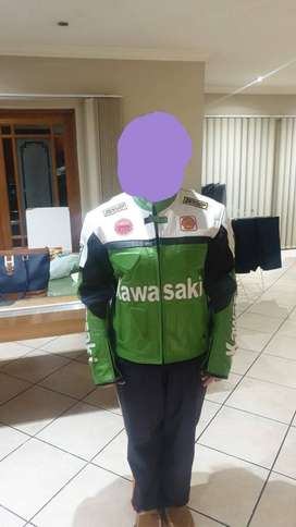 Kawasaki Jacket for sale.Still in good condition with padding.