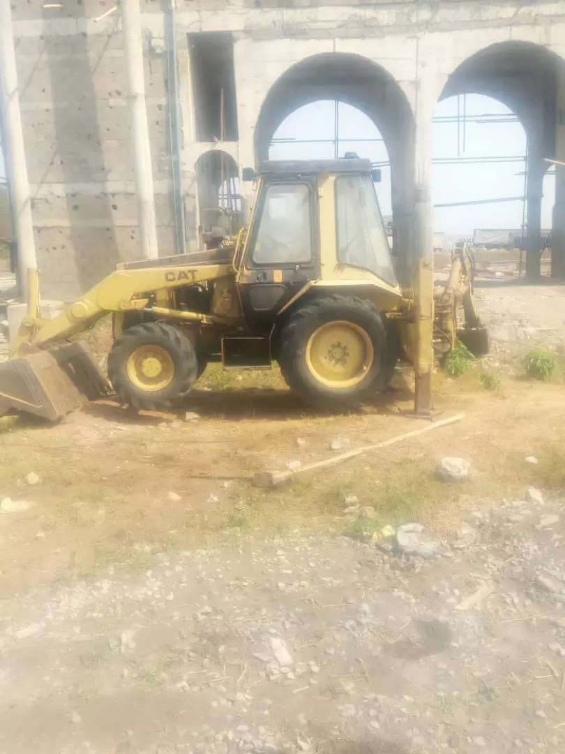 Nigerian Used 428b cat backhoe 0