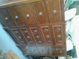 Collectors piece wood drawer