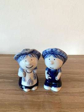 Dutch Twin Figures Salt and Paper Shakers
