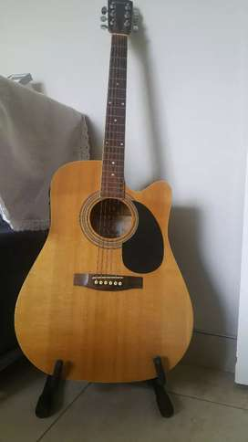 Johnson Electric Acoustic Guitar with Laney 15 W Amp