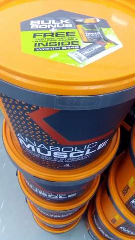 Muscle and anabolic supplements combo