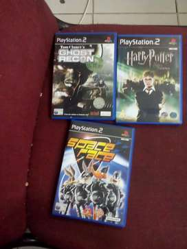 Ps2 ghost recon 'harry potter & freev spaceracer