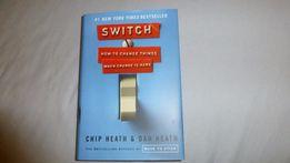 Switch how to change things C.Heath, D.Heath NOWA twarda oprawa