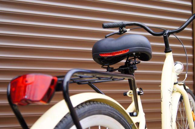 NOWY STYLOWY Rower 28' dla kobiety - Cappuccino . Prod. POLSKI 2019r.! Elbląg - image 7