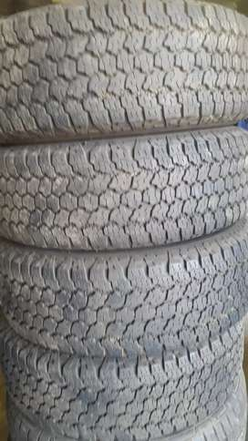 Goodyear Tryres in good condition all clean 245/70 16 90%
