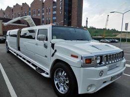 Аренда лимузина, машина на свадьбу в Киеве, свадебный кортеж