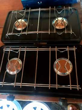 2 plate 4x4 gas stove