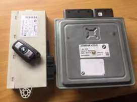 Bmw E90 320i/320d computer box and lock set for sale