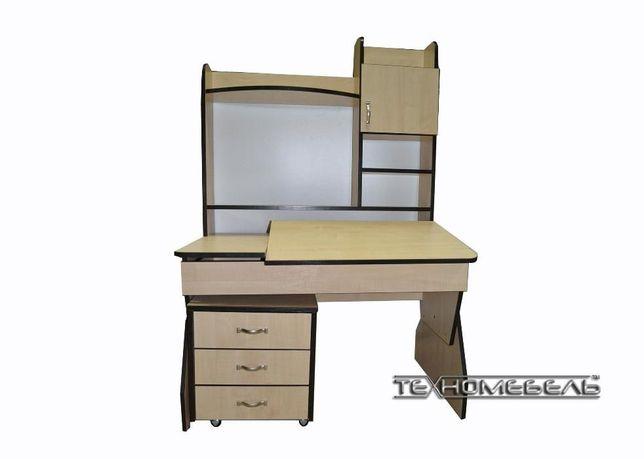 Парта-письменный стол с надстройкой от 3-х до 18 лет Киев - изображение 3