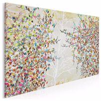 Obraz na płótnie - drzewo - kolorowe 120x80 cm (23001)