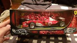Collectible 1:18 scale model Michael Schumacher Ferrari