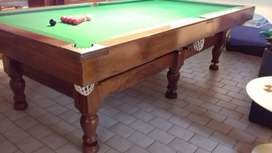 3/4 Snooker/PoolTable.
