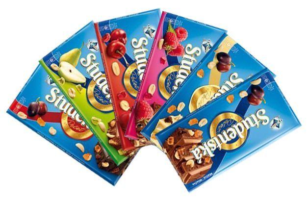 Шоколад Studentska Pecet (студенческая) Оптом