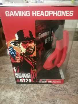 Red dead redemption gaming headset