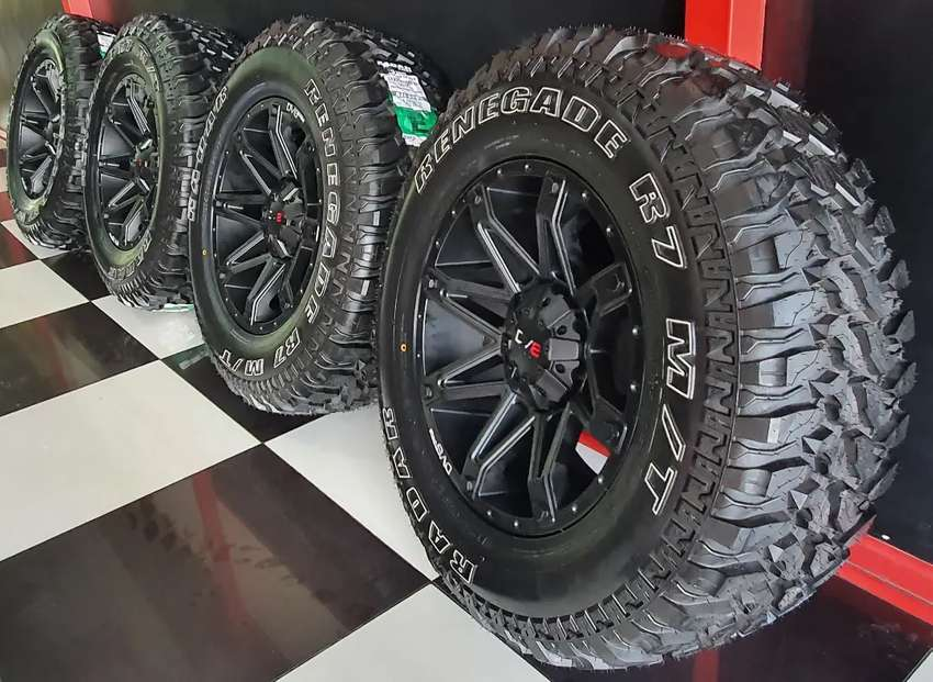 New 18 inch Bakkie Mag and Tyres combo 0