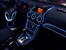 Холодный неон для авто, неон для подсветки панели приборов авто