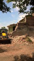 Демонтаж зданий, вывоз мусора