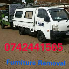 Furniture Removal. We have bakkie and truck for hire