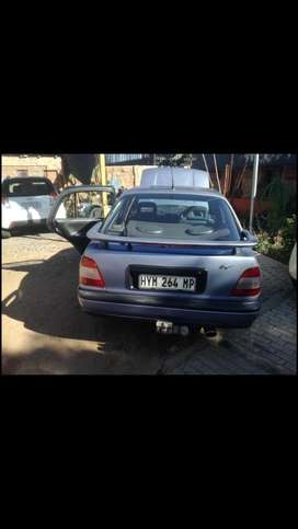 Exchange for a bakkie or tazz