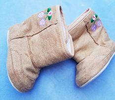 Ocieplane buciki dla dziewczynki