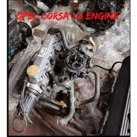 Opel 1.6 carb engine