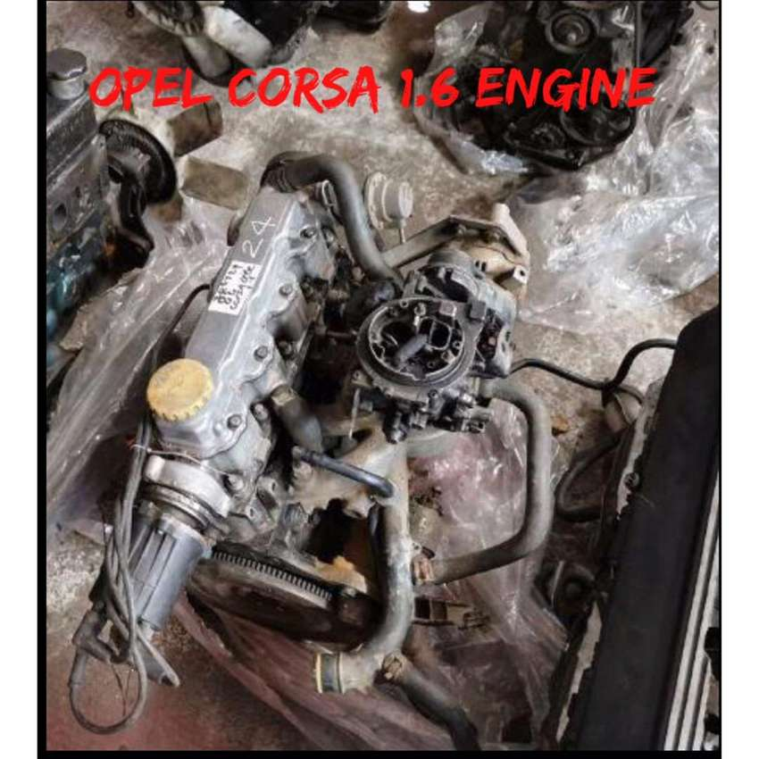 Opel 1.6 carb engine 0