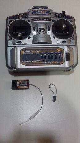 Радиоуправление HobbyKing HK6S 2.4 ГГц FHSS, 6 - каналов