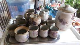 Fired clay cups set for R150