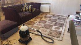 Услуги химчистка ковров и мягкой мебели моющим пылесосом HYLA