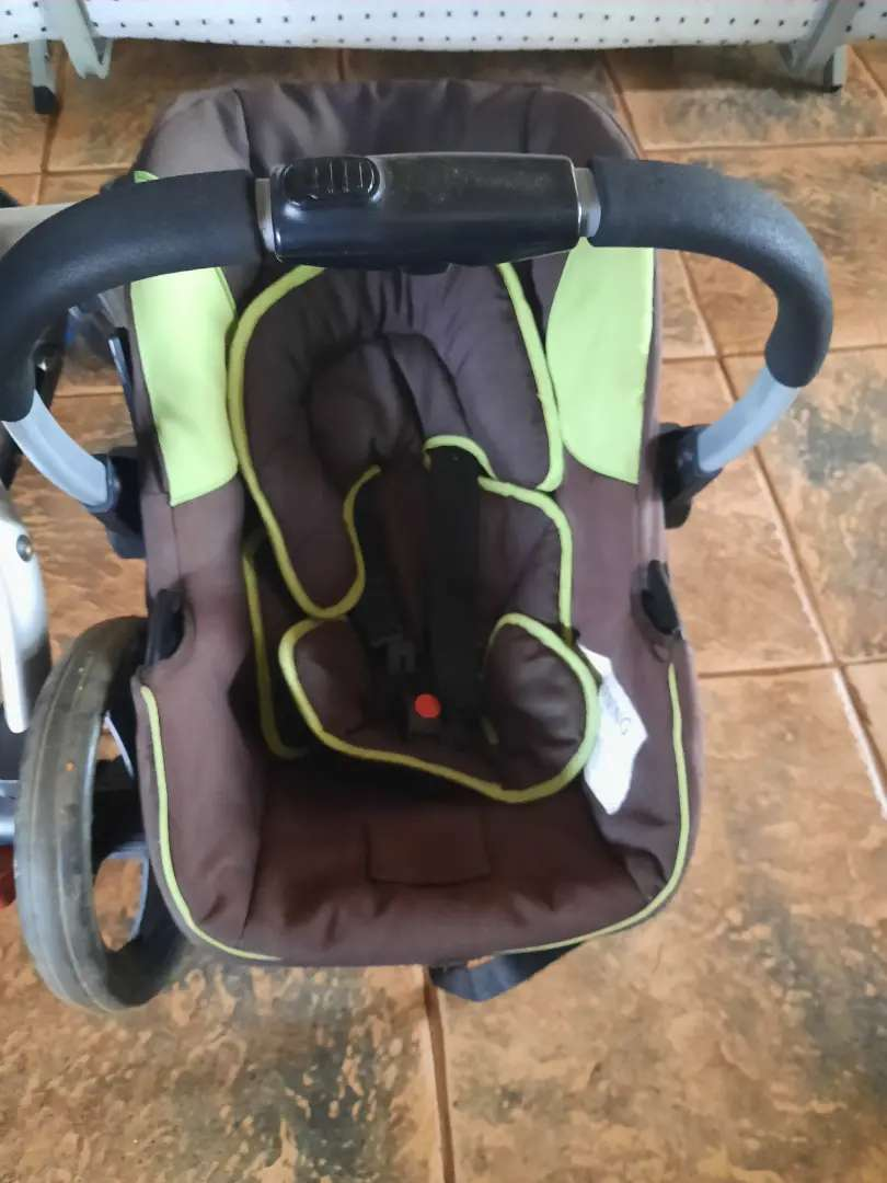 Pram and car seats