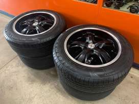 """17"""" 5/114 mags and tyres"""