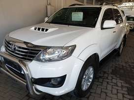 `2012 Toyota Fortuner 3.0D4D 4x4 Manual-Only 151500km-R269900