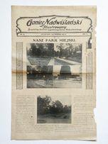 ''Goniec Nadwiślański Ilustrowany'' Grudziądz, tygodnik Nr 35 z 1929 r