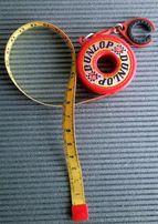 Stara miarka-brelok Dunlop 150 cm, do kolekcji