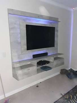 Floating TV stands  and Wine Racks