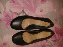 Туфли женские Clarks 39 р нат.кожа