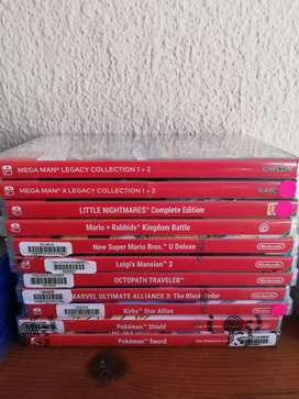 Sealed Nintendo Switch Games