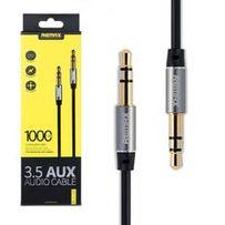 Remax 3.5 AUX Audio Cable 1000mm Black
