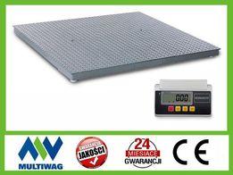 Waga do ważenia zwierząt 1x2m 600kg, 1500kg, 3000kg (NL)