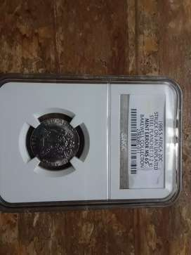 Rare graded error coin.only one graded