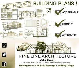 Approved building plans