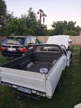 I have a 3lt v6 cortina bakkie for sale or to swop for bike 750 and up