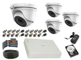 Zestaw kamer szerokokątnych do MONITORINGU full HD 2mpx